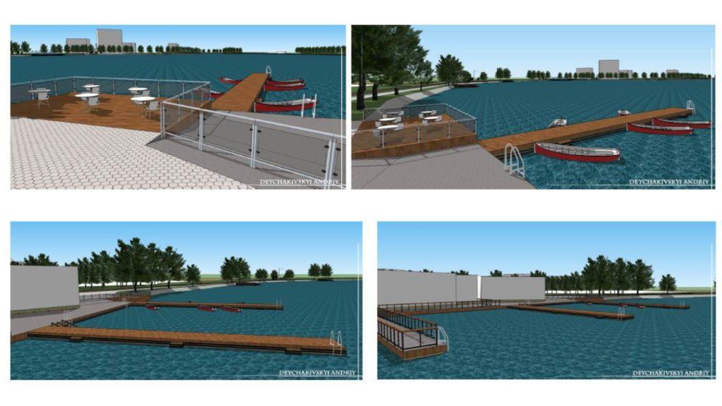 На озері капітально відремонтують човникову станцію (проект)