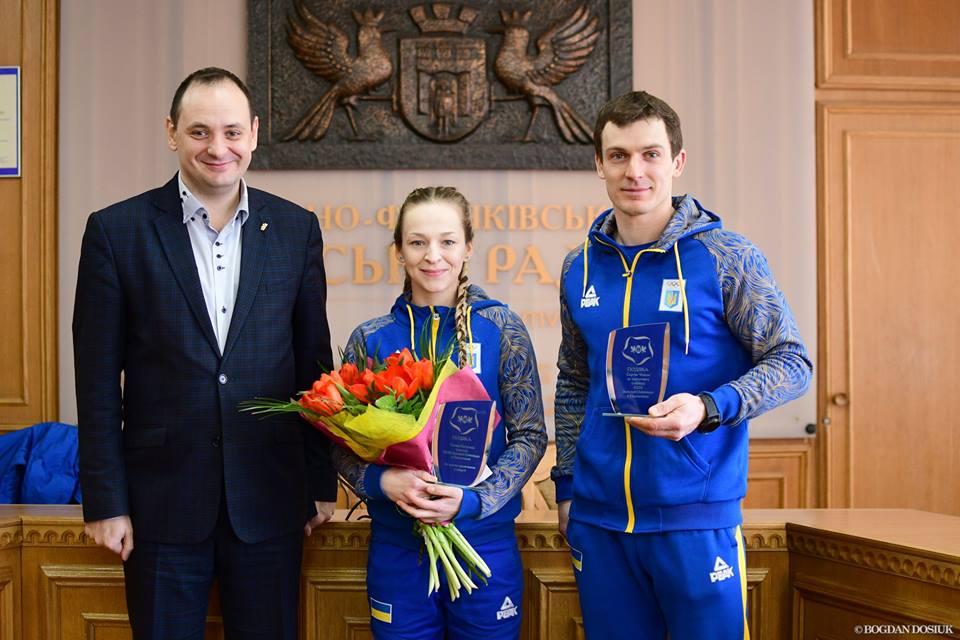 В Івано-Франківську відзначили учасницю Олімпійських ігор (фото)