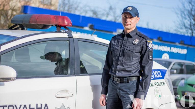 Новий керівник франківських патрульних дав велике інтерв'ю місцевим журналістам (фото+відео)