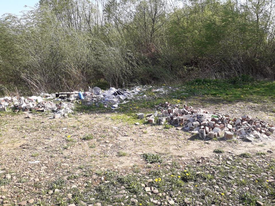 В передмісті Франківська, на березі Бистриці Надвірнянської, виявили купи сміття (фото)