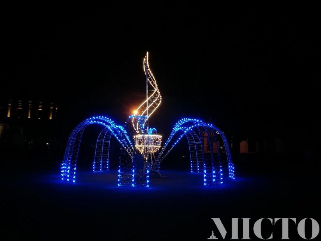 В Івано-Франківську урочисто відкрили 3D фонтан (фото+відео)