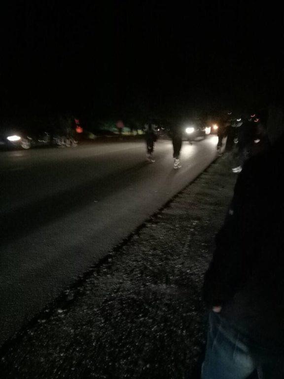 Під Франківськом мотоцикліст розбився під час перегонів (фотофакт)