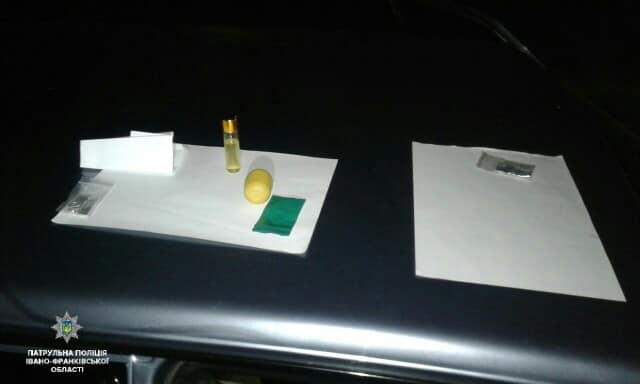 У Франківську водій втретє попався за кермуванням під наркотиками (фотофакт)