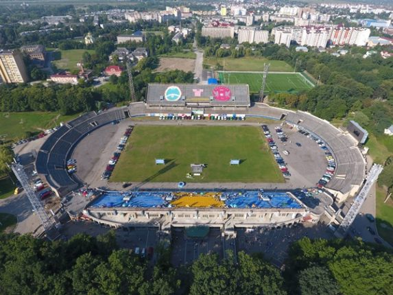 Картинки по запросу стадіон рух івано-франківськ