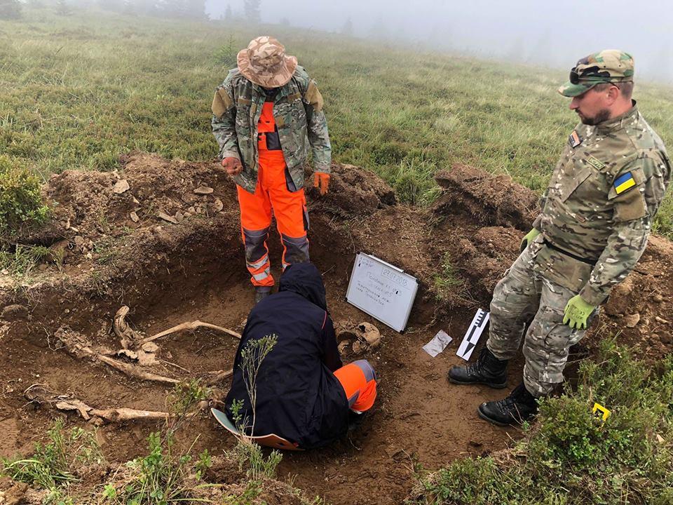 Останки 27 солдатів, кулі та снаряди: у Карпатах пошуковці відкопали унікальні військові артефакти (фоторепортаж)
