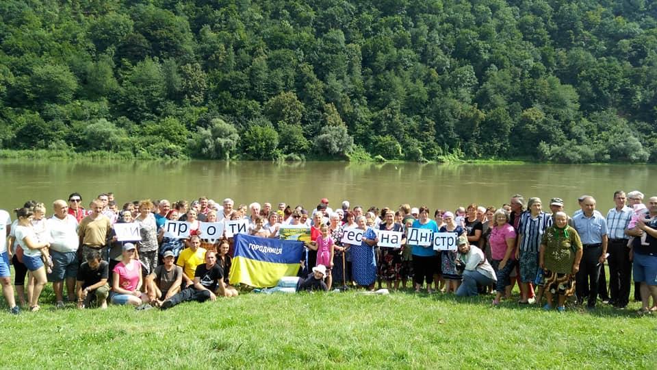 Громадські активісти збирають мітинг до Кабінету Міністрів проти побудови ГЕС на Дністрі