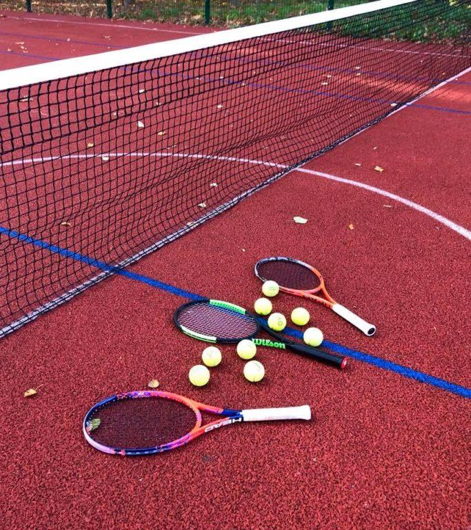 Відтепер у парку Шевченка можна грати у баскетбол та великий теніс (фоторепортаж)