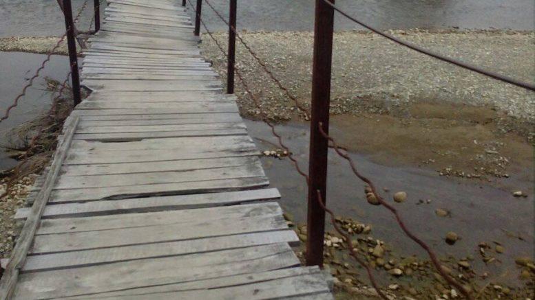 На Надвірнянщині взялися за ремонт аварійного мосту (відеосюжет)