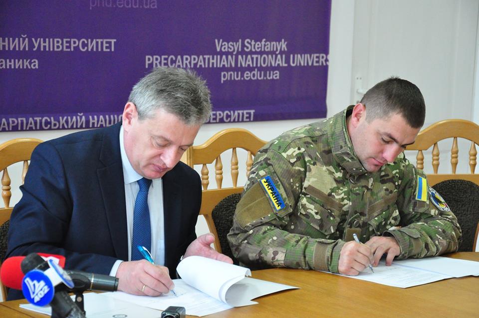 Прикарпатський університет займатиметься реабілітацією учасників бойових дій (відеосюжет)