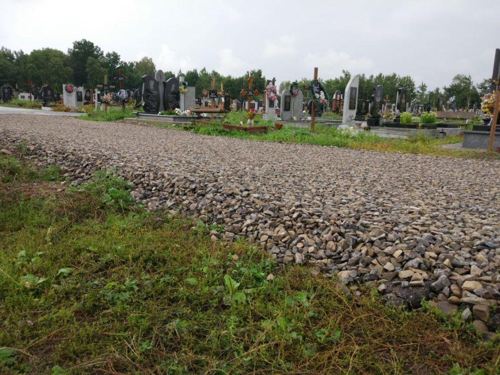 На міському кладовищі облаштовують нову ділянку