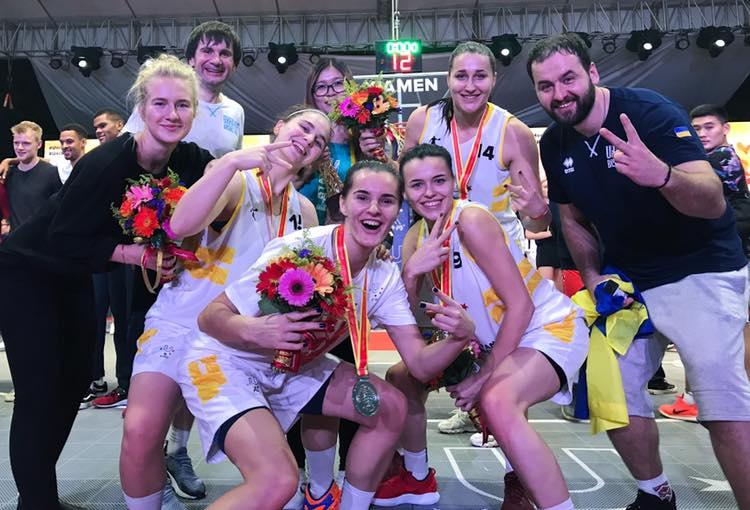 Франківчанки вибороли срібло Всесвітньої ліги з баскетболу 3х3