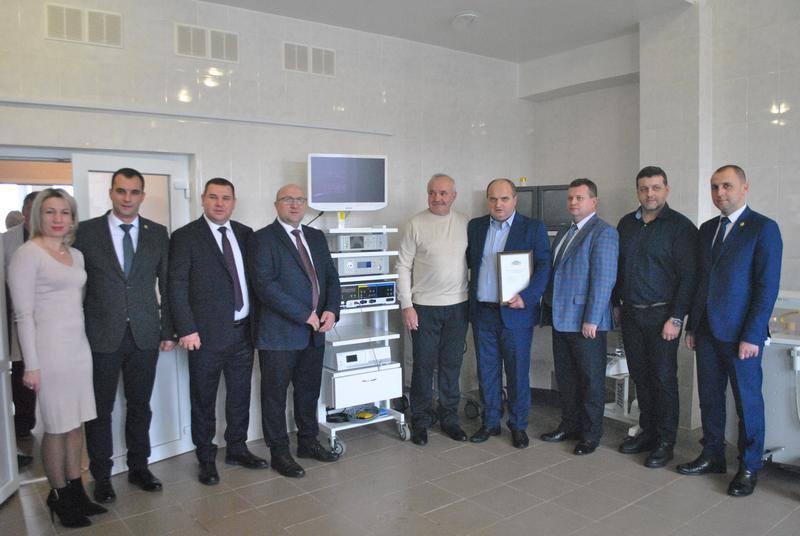 Богородчанська ЦРЛ отримала нове медичне обладнання (фотофакт)