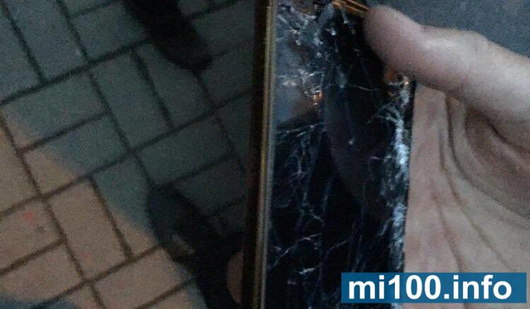 Під час сутичок у Івано-Франківську журналісту розбили телефон, відкрито кримінальне провадження
