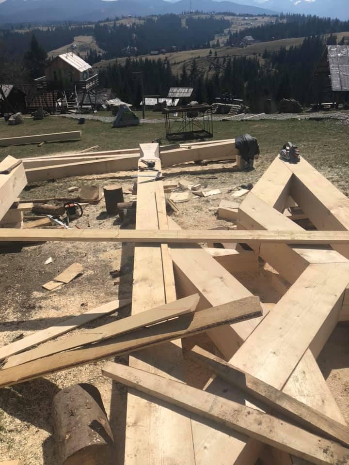 На Прикарпатті планують створити найбільший в Україні тризуб (фотофакт)