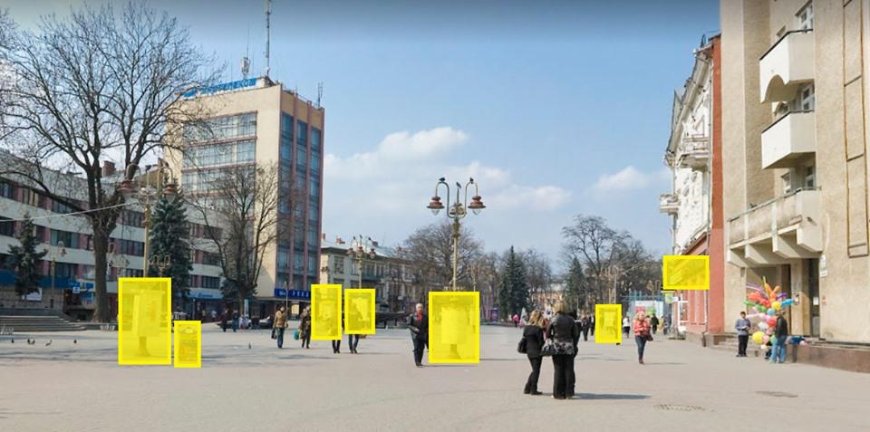 """Результат пошуку зображень за запитом """"Вічевий майдан у Франківську замість реклами прикрашатимуть квіти"""""""