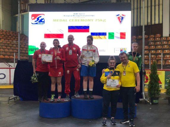 Спортсменки з Івано-Франківська здобули дві нагороди на Чемпіонаті Європи з боксу (фотофакт)