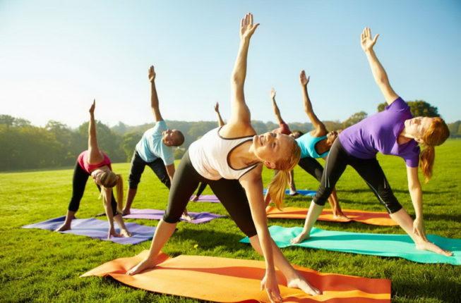 Йога-день у Франківську: у місті зберуться йоги, щоб створити живі скульптурні монументи