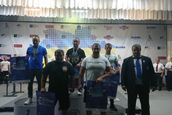 Прикарпатці вибороли золото на Чемпіонаті України з класичного жиму лежачи