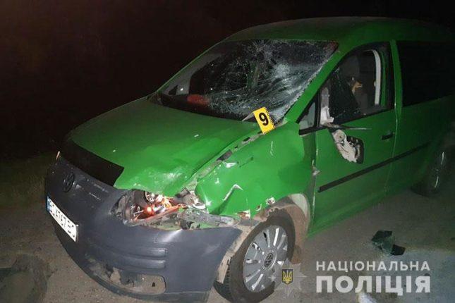 На Тернопільщині на смерть збили прикарпатця (фото+відео)