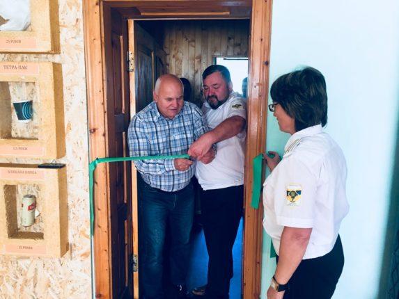 У Солотвинському лісництві відкрили нове приміщення для шкільних лісівників (фото)