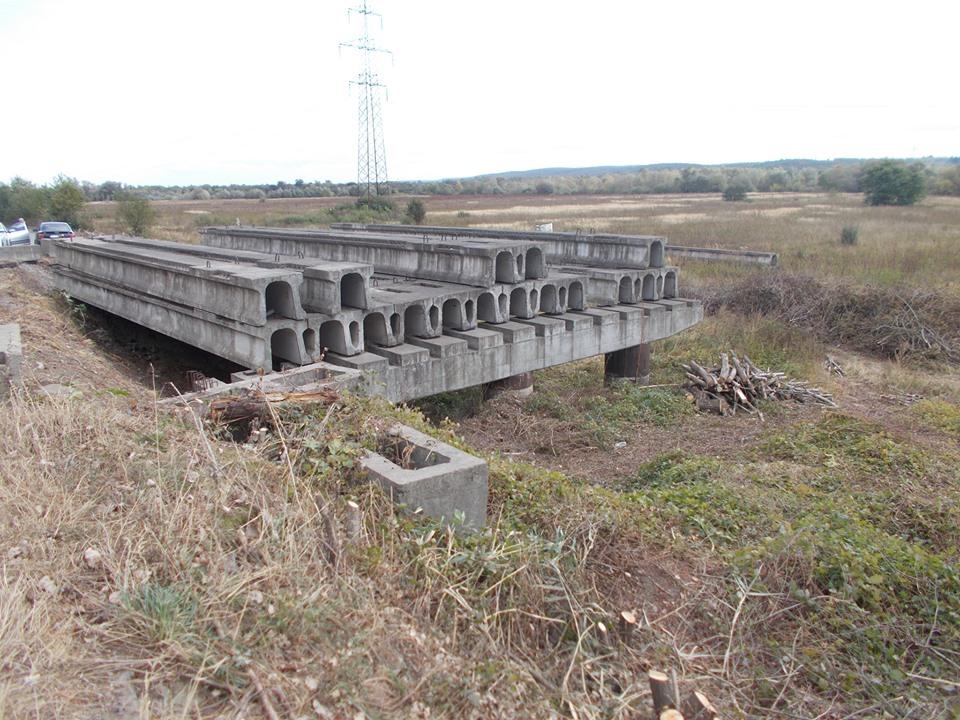 На Калущині готуються до спорудження моста через Дністер (фоторепортаж)