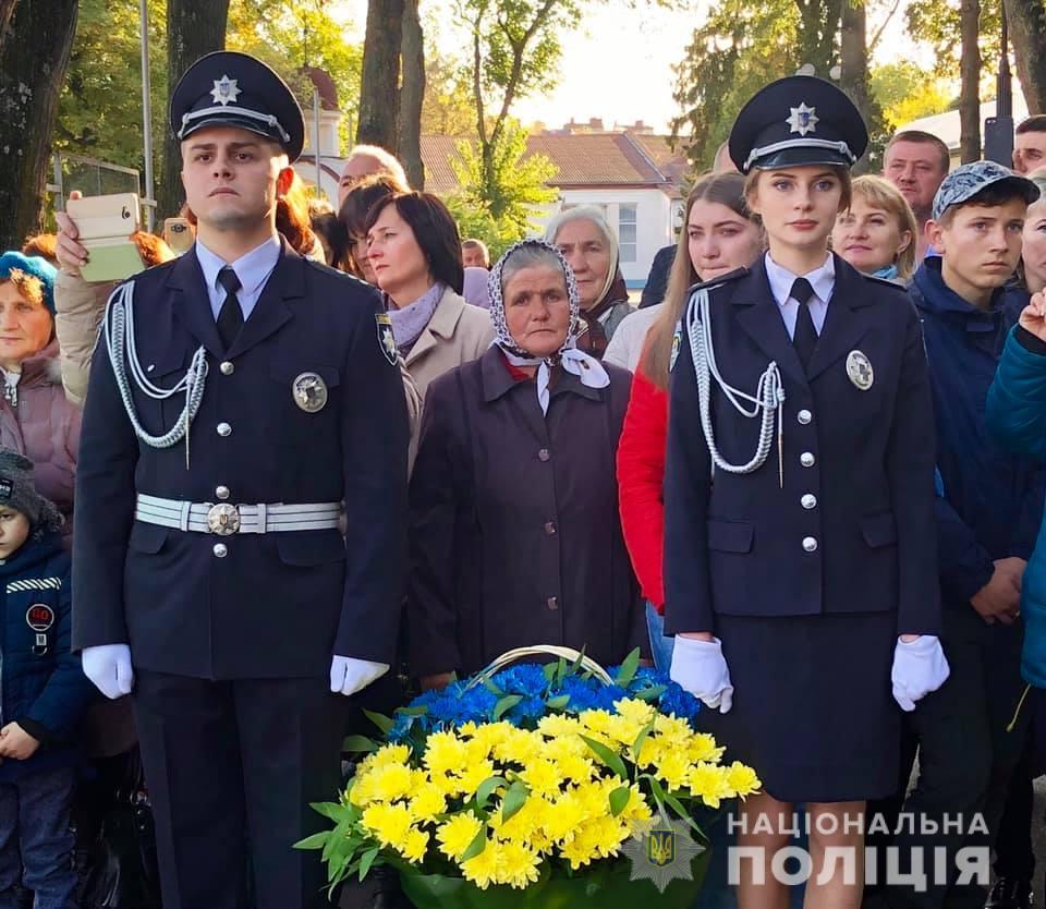 В Івано-Франківську молоді курсанти МВС склали присягу на вірність українському народові (фоторепортаж)