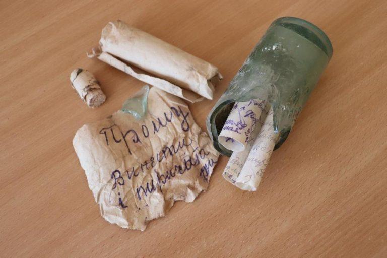 """""""Послання у пляшці"""": поблизу Тернопільщини знайшли лист у майбутнє з минулого століття (ФОТО), фото-7"""