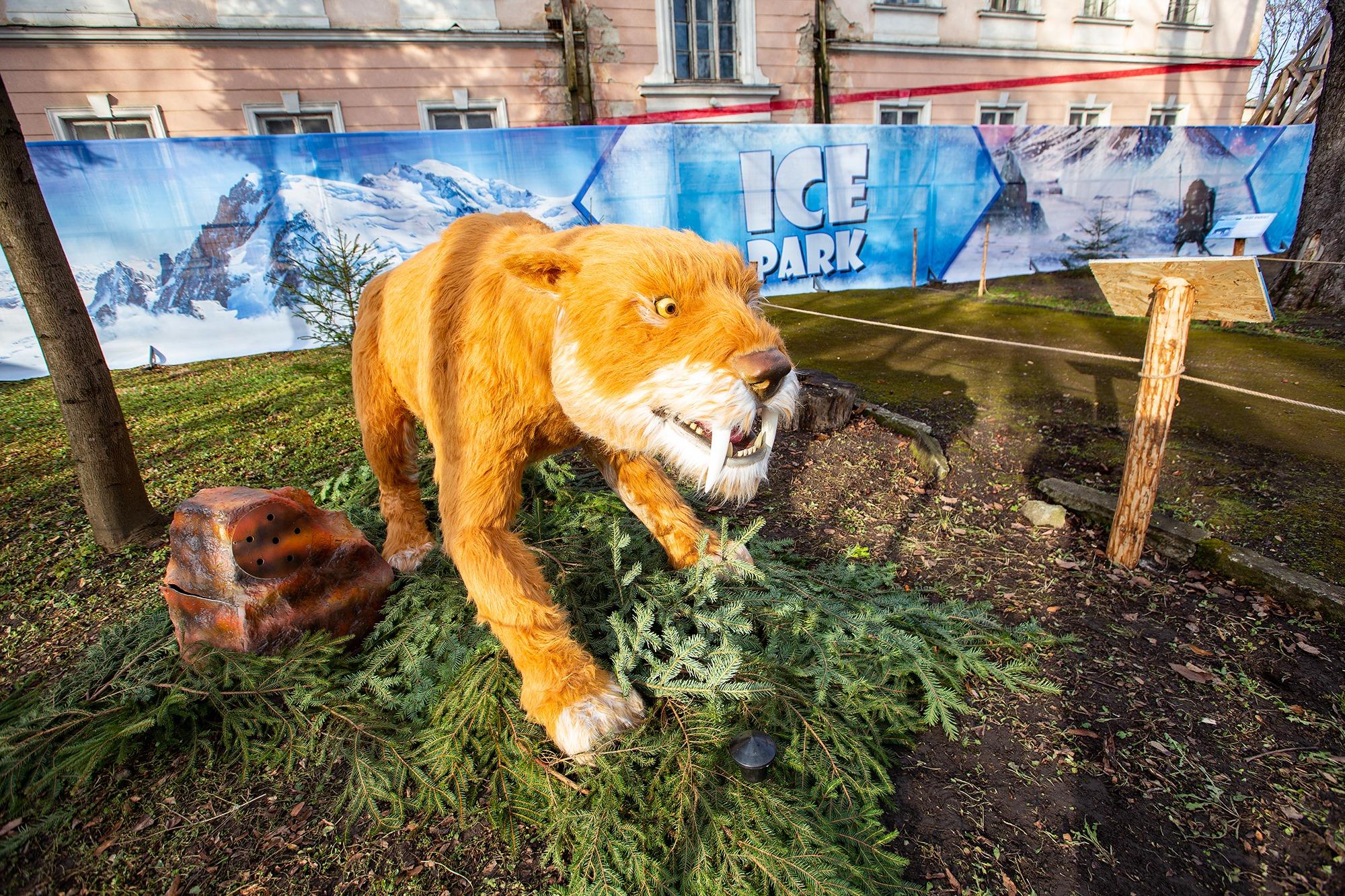 У Франківську в Палаці Потоцьких відкрили виставку льодовикового періоду.  ФОТО - Місто