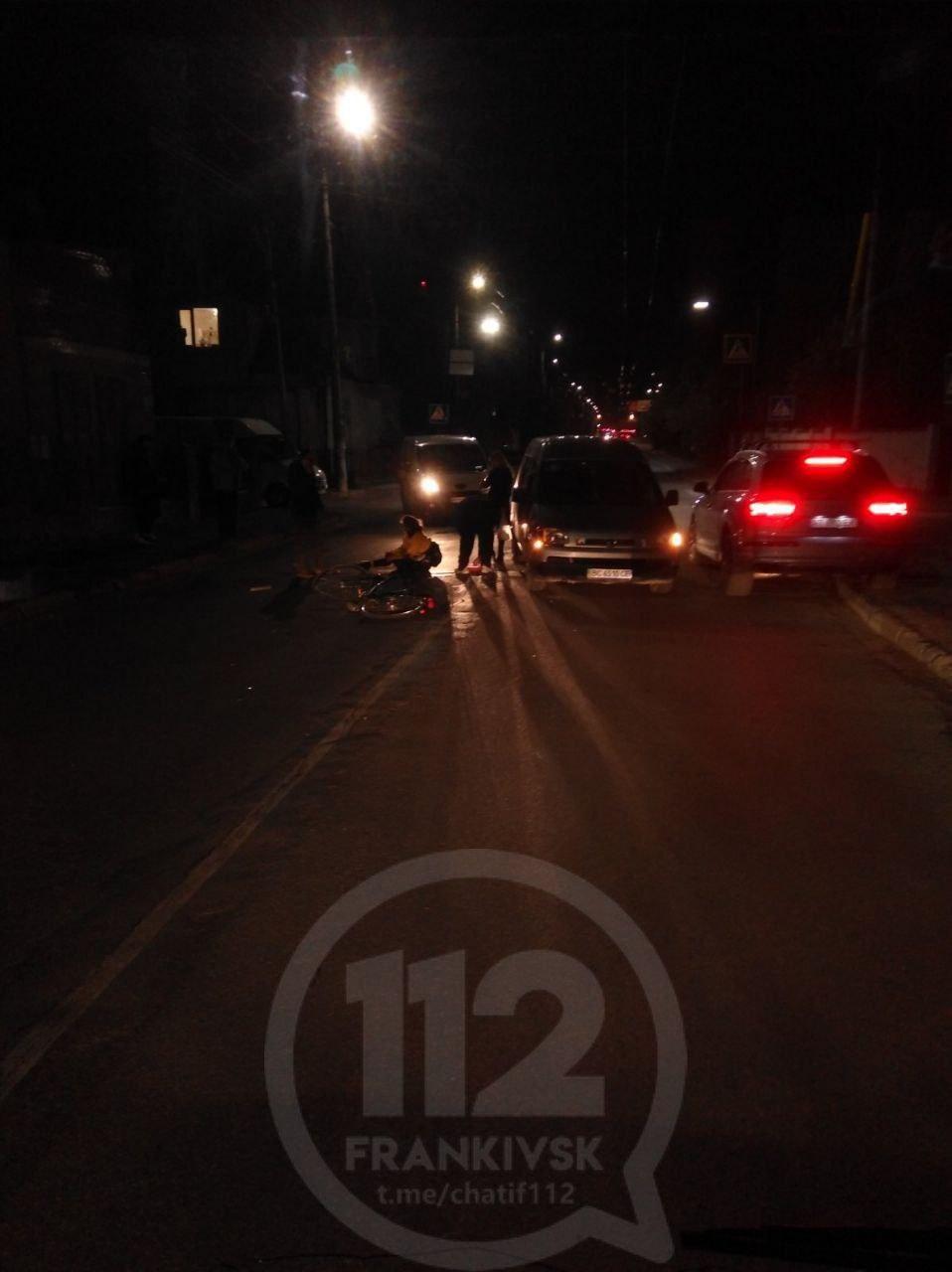 На Бандери збили велосипедиста, – очевидці